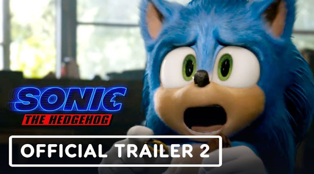 Hot New Movie Trailers Sonic the movie