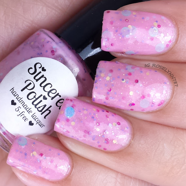 Sincerely Polish - Anniversary Confetti