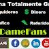 Damefans - ¡Gana Dinero y Seguidores de tus Redes Sociales Gratis!
