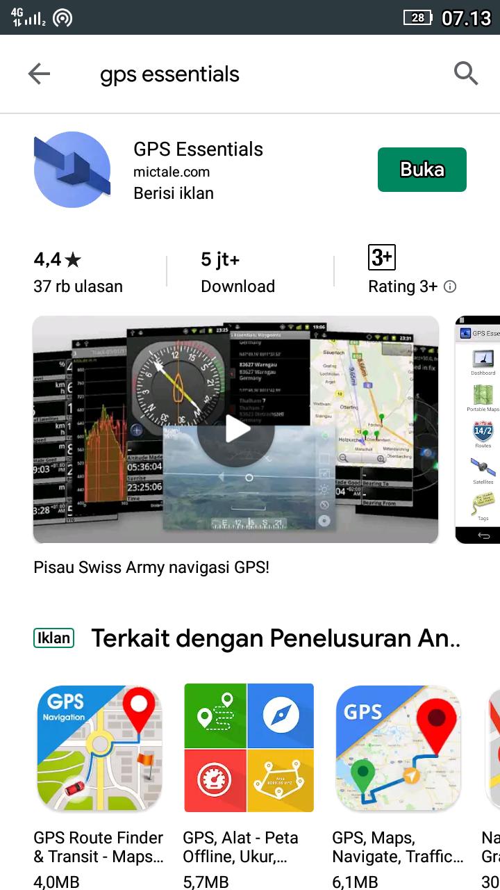 Aplikasi Gps Terbaik Untuk Hp Android Menggunakan Sinyal Satelit Ato Menulis