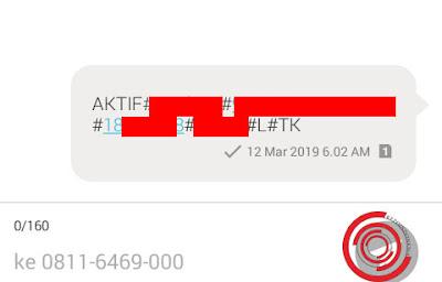 Aktivasi Ponta Alfamart lewat SMS