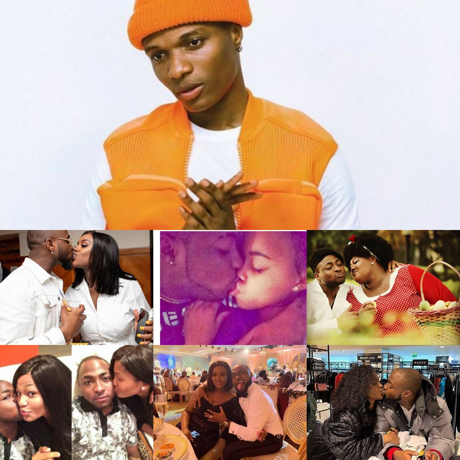 [Gist] Who observed Wizkid has never ever kissed a woman in public? #Arewapublisize