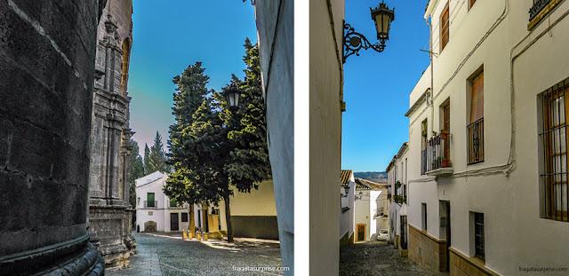 Ruas de Ronda, Andaluzia