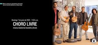 Choro Livre, música tradicional brasileña