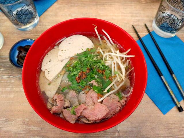 Le délicieux Phô de chez Yummy by Cook'n Asia saura vous réchauffer cet hiver !