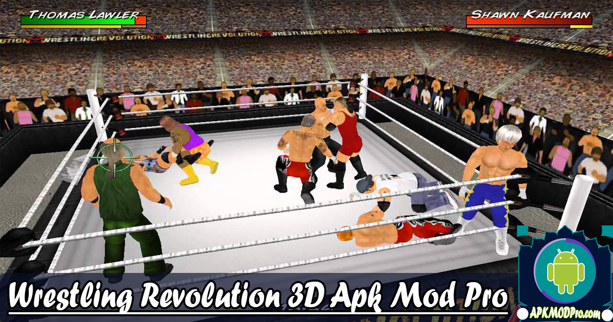 Download Wrestling Revolution 3D MOD APK v1.656 (Unlocked) Terbaru 2020