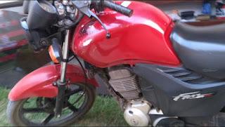 Mais uma moto furtada na Rua Manoel Cerqueira em Itiruçu
