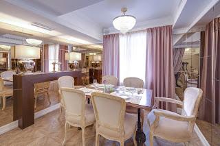 Дизайн ресторана Крюшон Екатеринбург Dulisov design студия интерьер