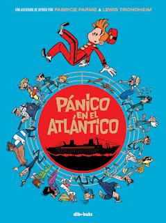 SPIROU PANICO EN EL ATLANTICO  Comic Europeo de Fabrice Parme y Lewis Trondheim