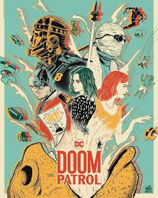 San Diego Comic-Con 2019 Exclusive Doom Patrol Television Series Art Print by Doaly x DC Universe