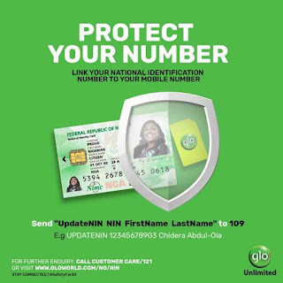 How to Link your Glo Sim Card With NIN
