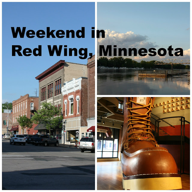 Weekend in Red Wing, Minnesota