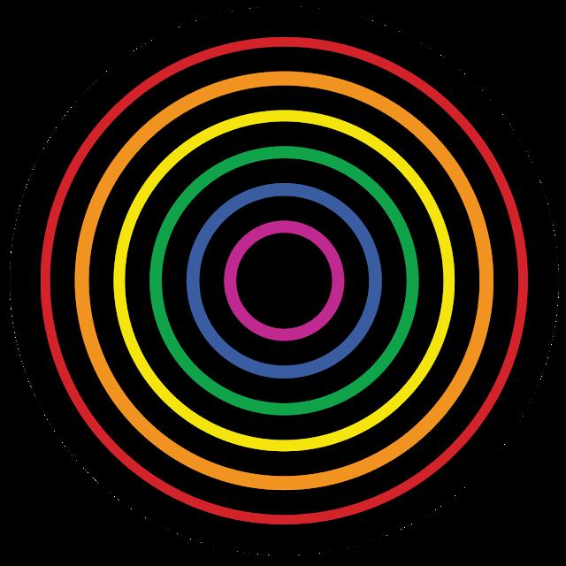 Gay Pride - Rainbow Rings of Pride