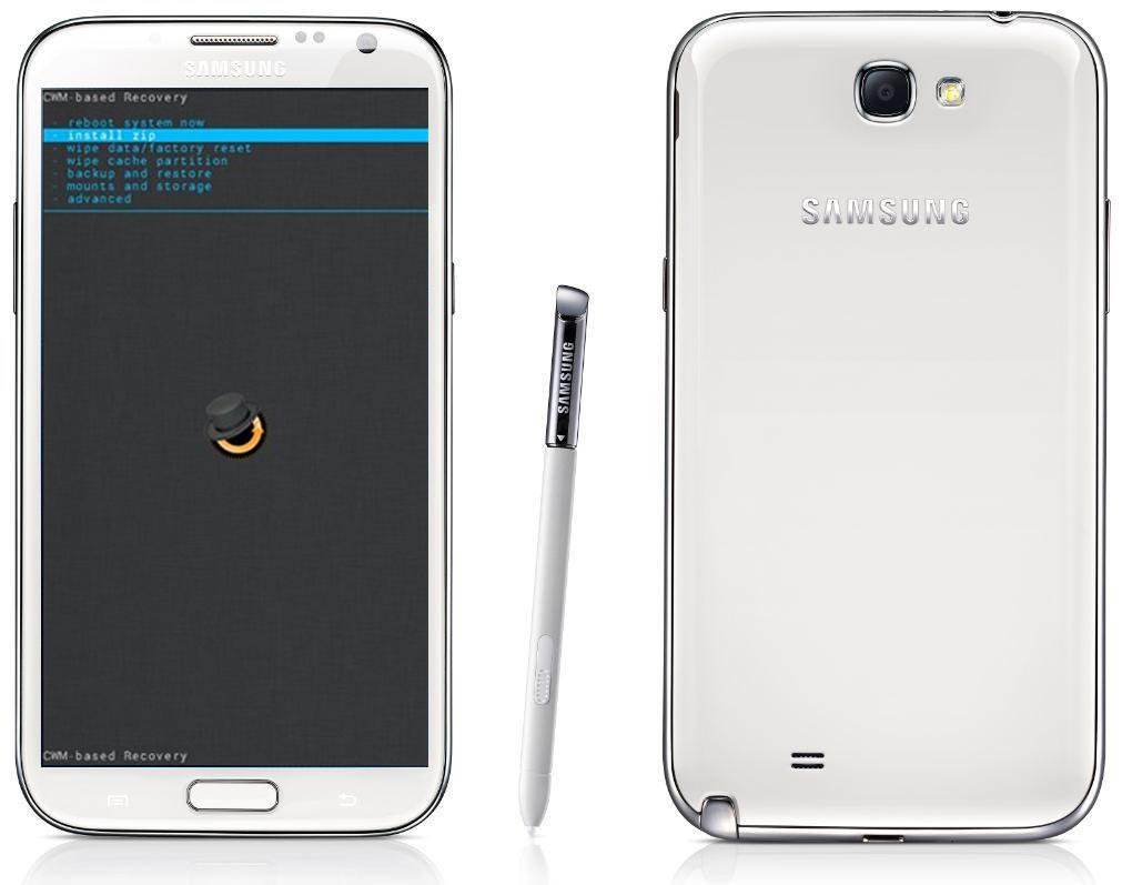 Tutorial Cara Intalasi CWM Pada Samsung Galaxy Note 2 GT-N7100