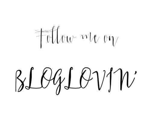 Follow my blog on Bloglovin'