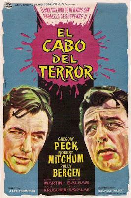 El cabo del terror (1962) - Poster