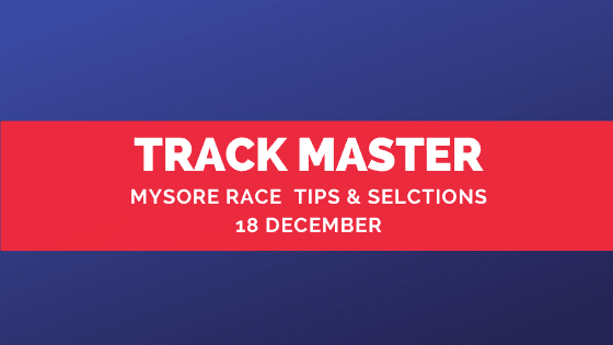 Mysore Race Selections 18 December