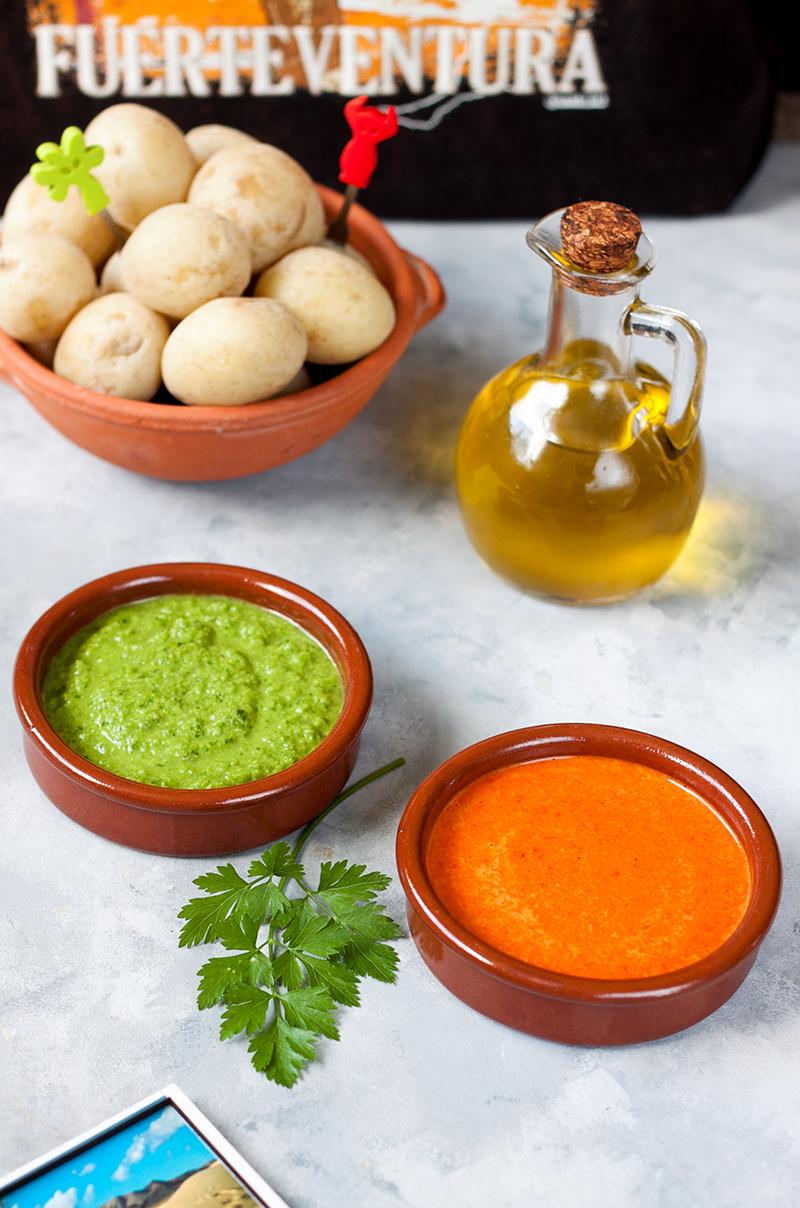 hiszpanski sos mojo rojo i mojo verde