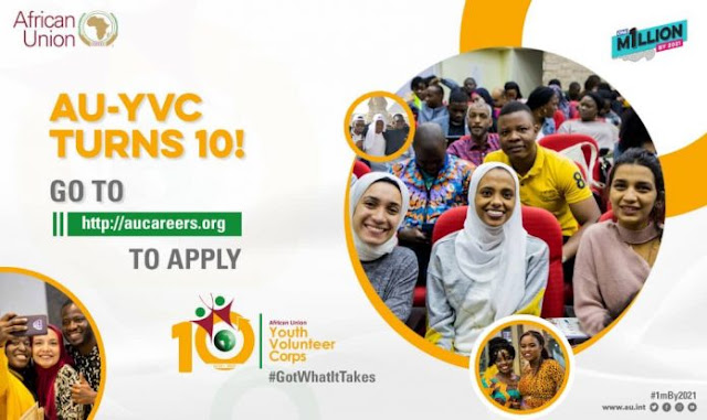 2020 African Union Youth Volunteer (AUYV) Corps Application – 11 Cohort