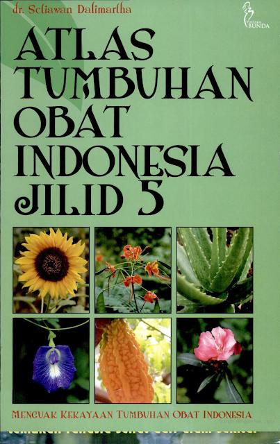 Atlas Tumbuhan Obat Indonesia jilid 5