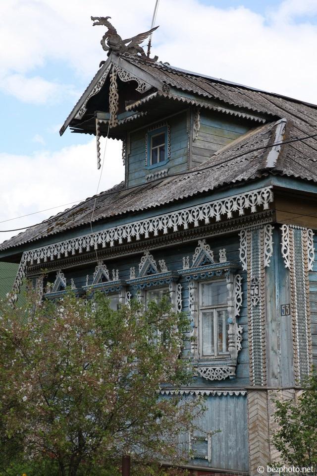 деревянное зодчество ярославской области