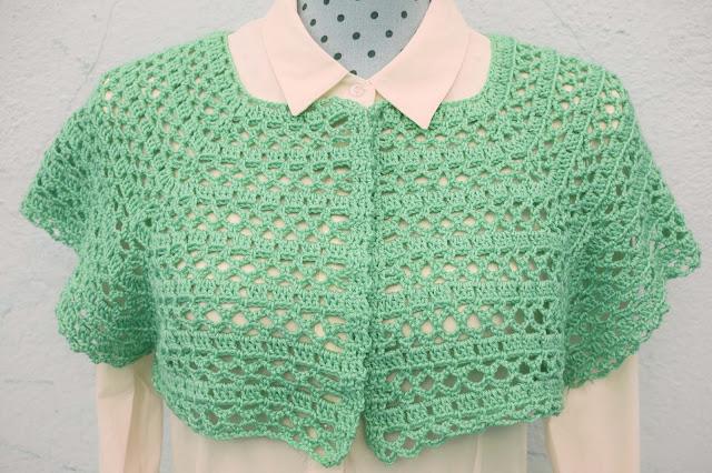 3 - Crochet Imagen Canesú para chaqueta de primavera a crochet por Majovel Crochet