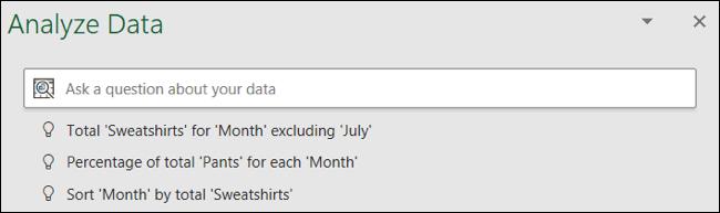 اطرح سؤالا حول بياناتك