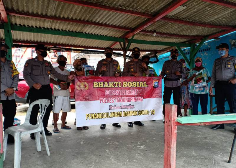 H-2 Jelang Lebaran, Polres Tanjungpinang kembali Gelar Bhakti Sosial