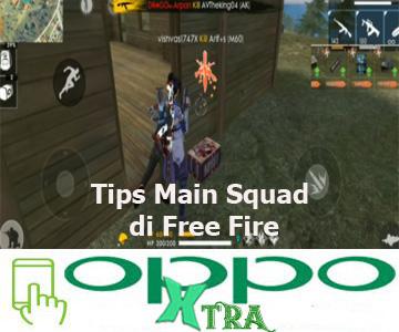 Tips Main Squad di Free Fire