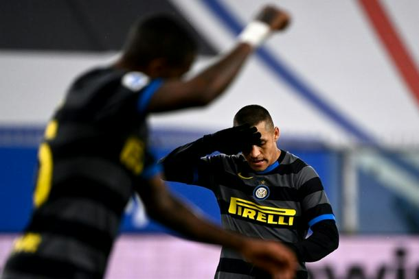 El INTER DE MILAN pierde el primer puesto tras un resbalón de Sampdoria