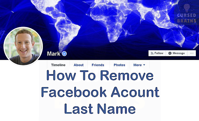 How To Remove Facebook Account Last Name | Hide Last Name On Facebook | Working Method | Cursed Brains