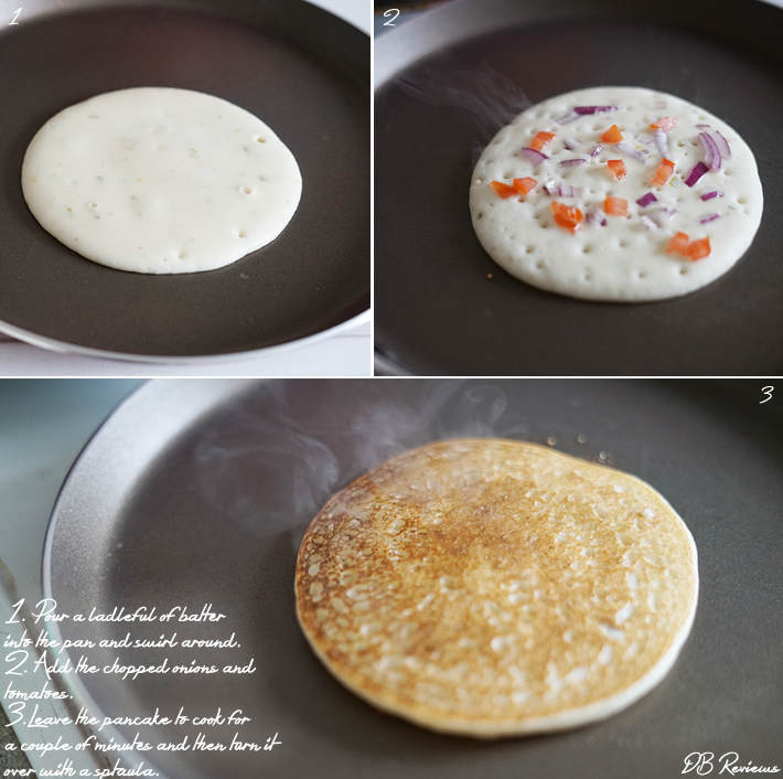 Uttappam - Indian Pancake