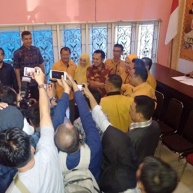 Ridho Ficardo Ajak Kader Hanura dan Masyarakat Bersama Melanjutkan Pembangunan.