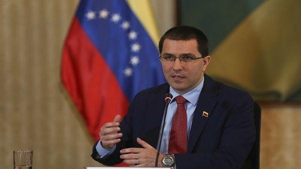 """Canciller Arreaza: """"Venezuela es un país agredido y asediado"""""""