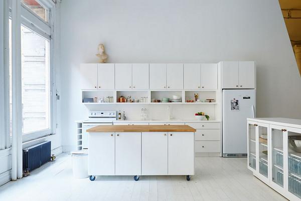ilhas de cozinhas modernas