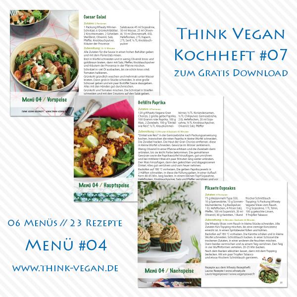 Think Vegan Kochheft #07 // Menü #04