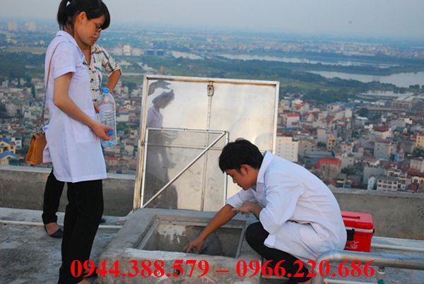 Dịch vụ thau rửa bể nước tại Hà Nội