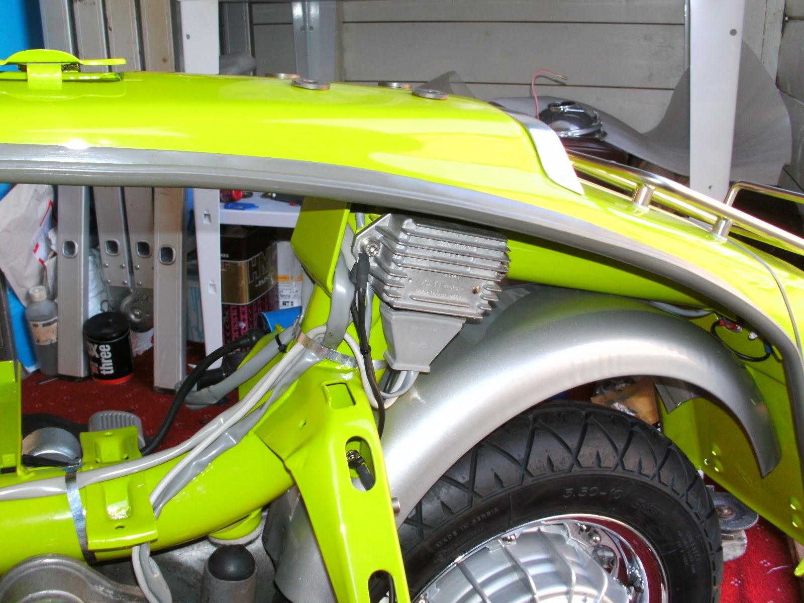 Serveta Lambretta Li 150  The Lambretta Wiring