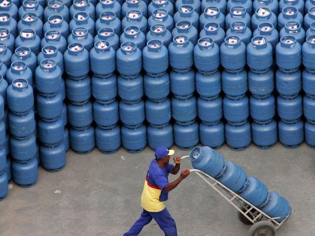 Botija de Gás vendida em Rondônia é a mais cara do norte: R$ 121 reais