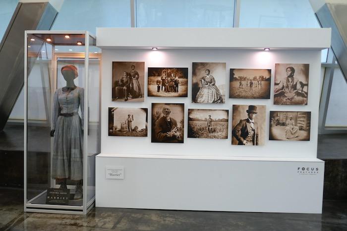 Harriet film costume exhibit