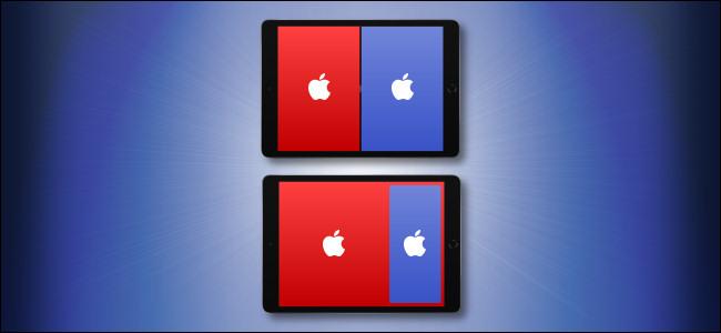 Apple iPad Split View والانزلاق فوق البطل