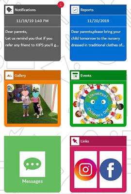 Icare Application at Kidz International Preschool