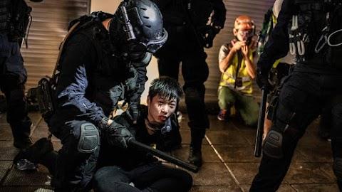 Kína ismét figyelmeztette a hongkongi tüntetőket