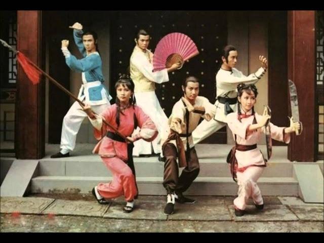 ... dos Jovens Heróis de Shaolin