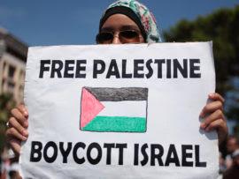 Seruan Boikot produk Israel terus menerus digemakan