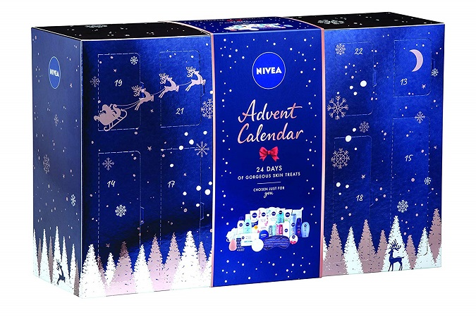 Calendario de adviento nivea