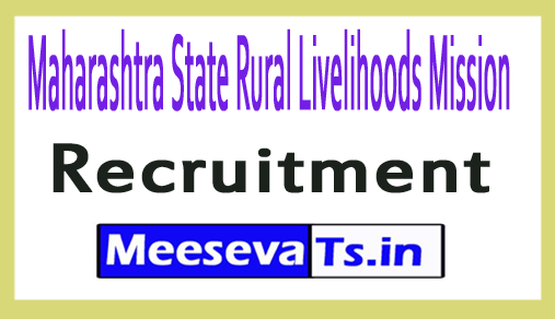 Maharashtra State Rural Livelihoods Mission MSRLM Recruitment