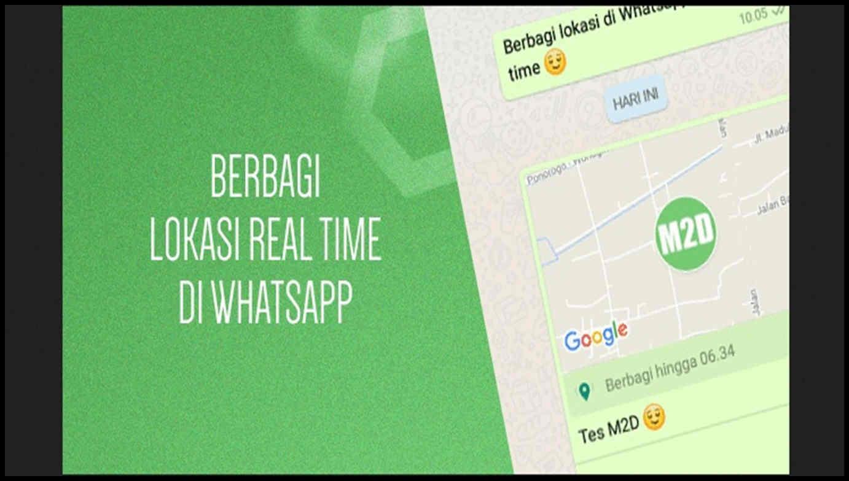 cara mengaktifkan lokasi di whatsapp