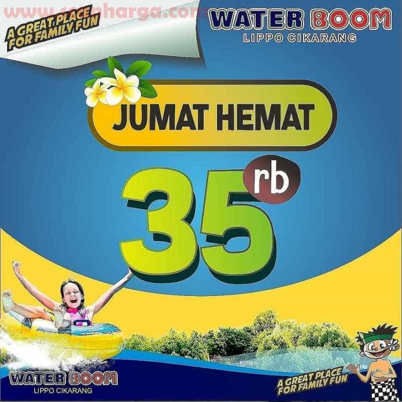 Promo Waterboom Jumat Hemat Rp 35.000 Periode Juli 2020
