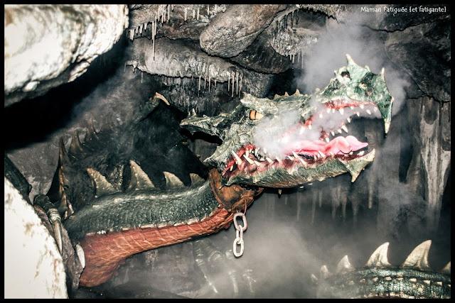 disneyland paris dragon
